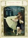 Programme Officiel Des Ballets Russes, La Saison Russe a L'Opera, Juin 1910 Photographic Print by Gianni Dagli Orti