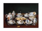 Still Life: Chinese Tea Set Giclée-Druck von Jean-tienne Liotard