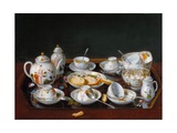 Still Life: Chinese Tea Set Giclee Print by Jean-tienne Liotard