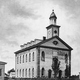 Mormon Temple in Ohio Photographic Print