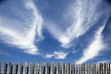Cirrus Clouds in Summer Sky Photographic Print by Paul Souders