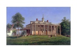 View of Mount Vernon Giclee Print by Joachim Ferdinand Richardt