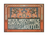 Dutch East Indies Art Exhibition, Germany Giclee Print