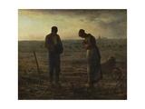 Jean-François Millet - The Angelus (Prayer) Digitálně vytištěná reprodukce