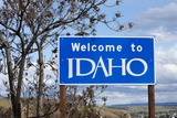 Welcome to Idaho Sign Photographic Print by Paul Souders