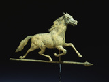 Galloping Horse Weathervane Photographic Print