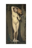 La Source (The Spring) Giclee Print by Jean-Auguste-Dominique Ingres