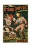Cognac Otard Dupuy and Co. Poster Giclee Print