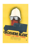 French Poster for Blue Crossing Giclee Print