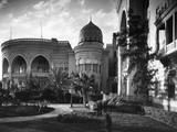 Exterior View of Heliopolis Palace Hotel Photographic Print