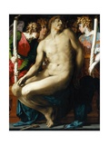 The Dead Christ with Angels Giclee Print by Rosso Fiorentino