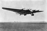 Junkers G38, D-2500 Landing Photographic Print