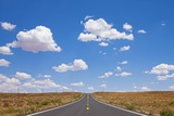 Highway in Arizona Desert Photographic Print by Paul Souders