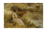Faraway Thoughts Giclee Print by Ernest Walbourn