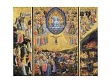 The Last Judgment Giclée-tryk af  Fra Angelico