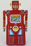 A Masudaya 'Machine Man' Robot, the Rarest Member of the 'Gang of Five' Robot Series Photographic Print