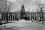 Capitol Building at the End of a Cheyenne Street Photographic Print