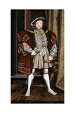 Full-Length Portrait of King Henry VIII Giclee Print by Hans Holbein the Younger