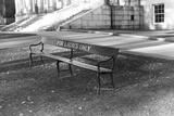 Reserved Bench Photographic Print by Jack Delano