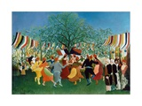 A Centennial of Independence Giclee Print by Henri Rousseau