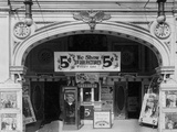Entrance to the Hippodrome Theater Photographic Print