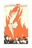 Flaming Youth Flapper Giclee Print