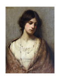 Portrait of a Woman, Half Length Giclee Print by William Kay Blacklock