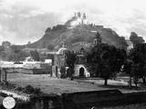 Church on Pyramid over Cholula Photographic Print