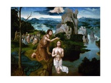The Baptism of Christ Giclee Print by Joachim Patinir