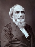 Rev Chauncey Giles (1813-1893) Leader of Swedenborgian Church Photographic Print