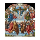 Adoration of the Trinity (Landauer Altarpiece) Giclee Print by Albrecht Dürer