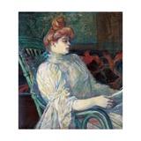 Madame Marthe X  Bordeaux Lámina giclée por Henri de Toulouse-Lautrec