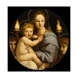 Madonna of the Candelabra Reproduction procédé giclée par  Raphael