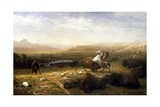 The Last of the Buffalo Giclee Print by Albert Bierstadt