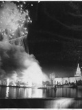 Fireworks at Panama Pacific International Exposition Photographic Print