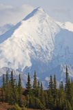 Mount Brooks in Denali National Park Photographic Print by Paul Souders