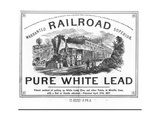 Advertisement for Lead Giclee Print