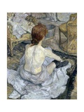 Rousse (La Toilette) Giclee Print by Henri de Toulouse-Lautrec
