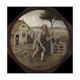 The Peddler Giclee Print by Hieronymus Bosch