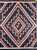 A Navajo Germantown Blanket Photographic Print