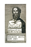 Portrait of Herodotus Giclee Print by Andre Thevet