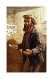 His First Vote, 1868 Giclee Print by Thomas Waterman Wood