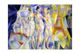 The City of Paris (La Ville De Paris) Giclee Print by Robert Delaunay