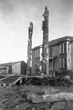 Totem Poles Photographic Print by E.H. Harriman