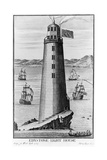 Edystone Lighthouse Giclee Print
