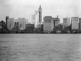 Manhattan Skyline from New Jersey, 1908 Photographic Print