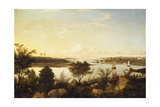 The Annisquam River Looking Toward Ipswich Bay Giclee Print by Fitz Hugh Lane