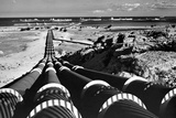 Crude Oil Pipelines Photographic Print by Roger Wood