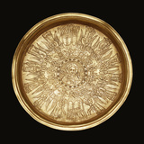 A Gold Engraved Paten Photographic Print
