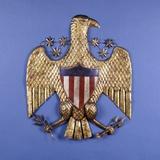 A Gilded Pressed Tin Eagle Reprodukcja zdjęcia